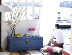 Wooden chest DIY. Perfect for the hope chest! Chad can build it and then I can fill it.