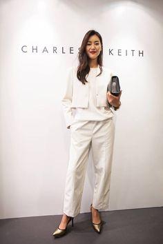 SPOTTED:#LiuWenat#CharlesKeithNACeventFOOTWEAR   SL1-60300162BAG   CK2-70670013Visit your nearest store or charleskeith.com
