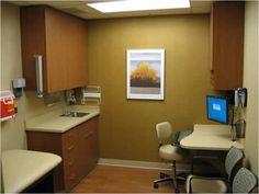 Folio Exam room from Nurture Steelcase Pediatric Clinic Ideas