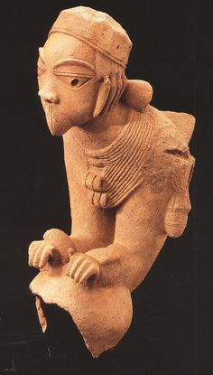 Africa Art West Ancient Discoveries Prehistoric Archaeology Mythology Sculpture Image Nok