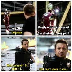 Captain America: Civil War!!! XD Hahaha!!!!! Clint Barton and Tony Stark - Grown Man Children