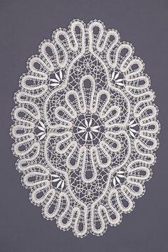 Салфетка | Снежинка: Вологодское кружево