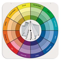 pocket colour wheel - back