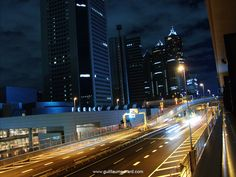 Tokyo cityscapes by night