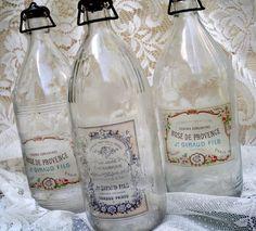 DIY::Sweet Vintage Bottles With Free Printables