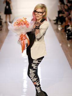 Abbey Dawn designer Avril Lavigne