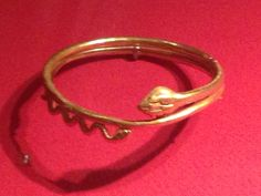 Hellenistic snake bracelet, metropolitan museum