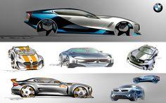 Car Design Sketches on Behance