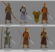 Woodland Realm Units Updated Version by Arbiter376