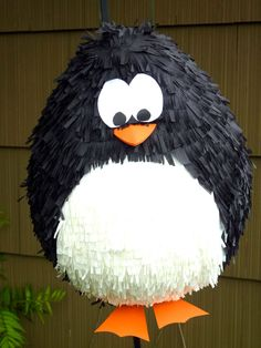PINATA PENGUIN....Love this for a kid's birthday party!