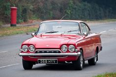 1960s Ford Consul Capri 335 - Classic Cars on the London to Brighton Route by clicks_1000, via Flickr