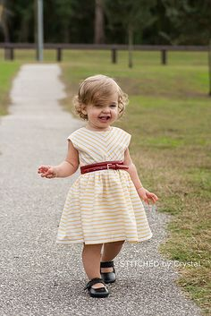 """Last week I had the opportunity to test Mouse House Creations  newest pattern, the Caroline Party Dress .      You may be thinking """"that doe..."""