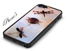 Amazon.com: Black Snap-On iPhone 5 Cover Case DRAGONFLY LOGO DESIGN for iPhone 5: Cell Phones & Accessories