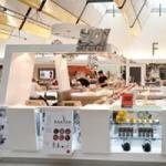 Yo! Sushi Restaurant on the 5th floor of Harvey Nichols, Knightsbridge in London