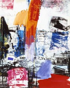'Choke ' (1964) by Robert Rauschenberg