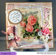 Eine rosa Fotokarte zum Geburtstag auf meinem Blog: http://nataschas-blog.blogspot.de/2015/07/mein-letztes-zwillingswichtelwerk.html