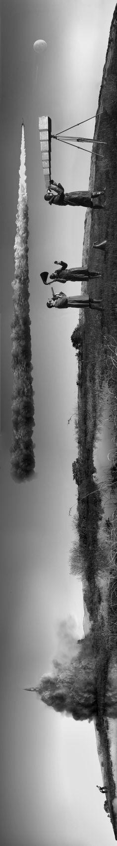 """Apollo Prophecy"" (Lift Off) by Nicholas Kahn & Richard Selesnick, 2012."