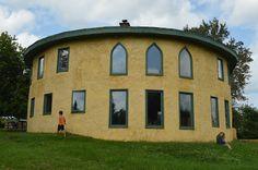 Соломенный дом по технологии Нью Брунсвик - Канада. Biohouse.com.ua