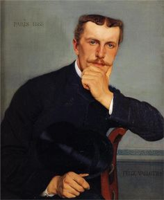 Portrait of the Artist's Brother - Felix Valloton