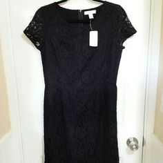 Black lace dress this line dress . Is floral lace lends an ultra-femme touch, especially with its short sleeves and round neckline (perfect for showing off a sparkly statement necklace Dresses