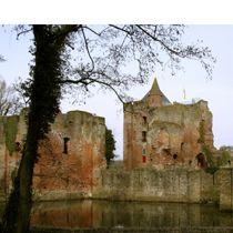 Ruine van Bredrode Met de Ruïne van Brederode worden de resten aangeduid van kasteel Brederode bij het Noord-Hollandse Santpoort Zuid. De Ruïne van Brederode moet een ruïne blijven, maar ook niet verder afbrokkelen. De foto is van Rik Doornberg van Cultureel Erfgoed Noord-Holland
