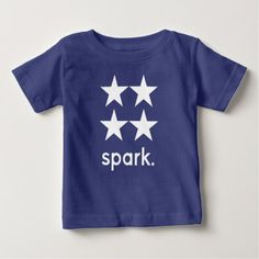 Spark Baby T-Shirt - diy cyo customize create your own personalize