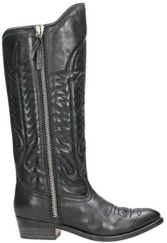 Golden Goose Black Cowboy Boots. Cowboy boot fashions. I'm an affiliate marketer. When you click on a link or buy from the retailer, I earn a commission.