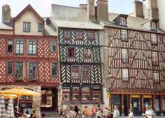 Rennes, Brittany, France.. One of my ancestor's surnames has its origins in this part of France.