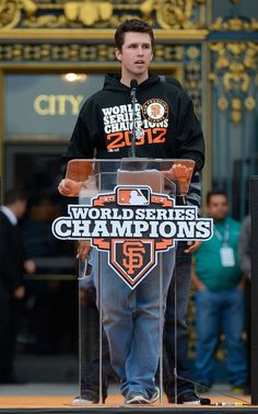 Love Buster Posey!!
