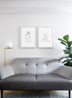 Trending: Minimal, Modernist-Inspired Line Drawings and Sketches - Nordic Design Scandinavian Interior Design, Nordic Design, Stackable Chairs, Cool Chairs, Line Drawing, My Dream Home, Interior Architecture, Minimalism, House Design
