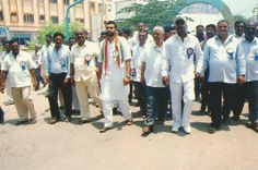 vikram goud political campaigning