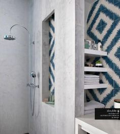 Don't you hate it when you see a bathroom in a magazine or blog with truly amazing tile, and then you look at the article and there is absolutely no indication of what said tile is or where to find it