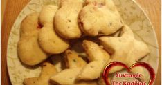 Νόστιμα, χαριτωμένα μπισκοτάκια γεμιστά με κερασάκια και αμύγδαλα.  Εναλλακτικά γεμιστά με πολύχρωμη τρούφα, αν τα πιτσιρίκια μας είναι «δ... Cookies, Vegetables, Desserts, Blog, Crack Crackers, Tailgate Desserts, Deserts, Vegetable Recipes, Cookie Recipes
