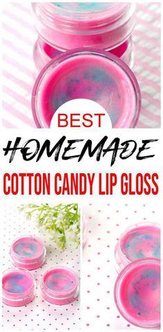 Lip Gloss Homemade, Diy Lip Gloss, Quick Diy Beauty, Diy Beauty Products To Sell, Natural Lip Balm, Natural Beauty, Lip Balm Containers, Candy Lips, Beeswax Lip Balm