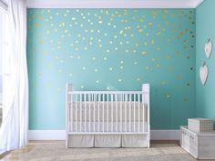 Polka dots - Wall decals - kids wall decals - polka dot wall stickers - polka dot wallpaper - wall decor stickers - circle wallpaper by Jesabi on Etsy