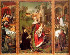 BARTOLOME BERMEJO RETABLO DE LA IGLESIA DE MONTSERRAT 1485