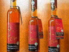 EROS in a bottle - 100% organicapple wine from Emmanuel Maniadakis, Organic Wine Maker, Québec
