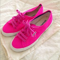Hot Pink Cotu Supergas Hot pink Cotu Supergas. Never worn brand new without tags ❤️ no trades Superga Shoes