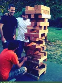 Extreme Jenga - Mother of God...When that Crashes the Whole World Will Panic!