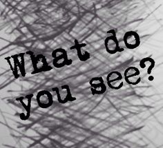 What do you see? Because to normal people their just lines but to others their so much more