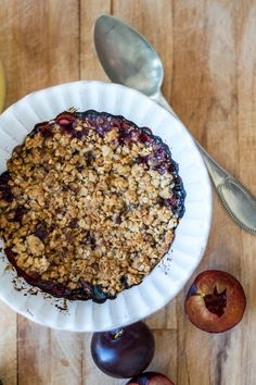 Plum Crumble || Costa Nova