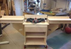 Miter Saw Stand - by Glen Peterson @ LumberJocks.com ~ woodworking community