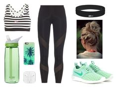 """Jogging 1"" by noonandco ❤ liked on Polyvore featuring NIKE, adidas, CamelBak and Casetify"