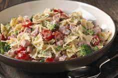 Garden Ranch Pasta Salad recipe - see more great salad recipes at www.kraftsaladcentre.ca