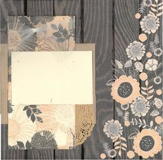 2 page Scrapbooking layout kit -12x12. This kit has been created by Crop-A-Latte. All items are precut and ready to assemble. Youll also receive