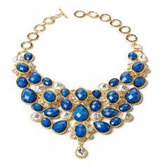 Amrita Singh   Crystal South Fork Bib Necklace - Fashion Jewelry Necklaces