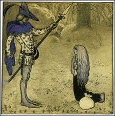 John Bauer (1882-1918) Swedish painter and illustrator.  Trolls, Fairy Tales and Folk Tales