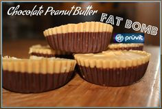 If you are following a Ketogenic diet fat bombs are amazing snacks! Chocolate Peanut Butter Fat Bombs are divine!