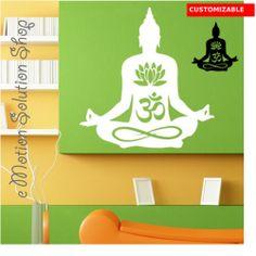 Sticker Autocollant à personnaliser Buddha 2 zen