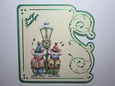 3D & Hobby Dots Christmas card